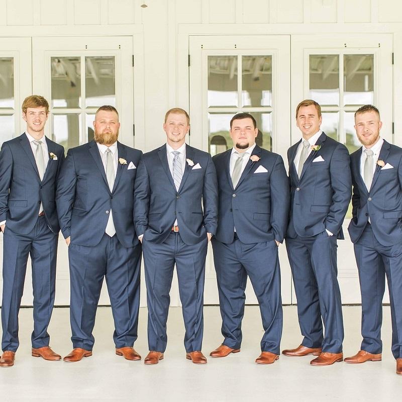 The groom and groomsmen.