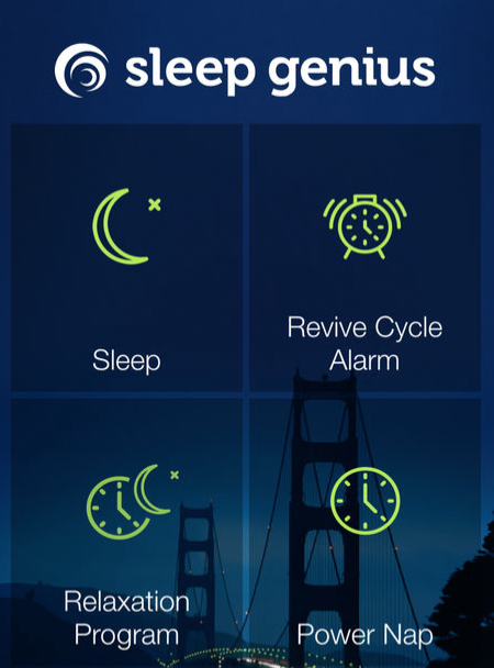 Sleep Genius app screenshot