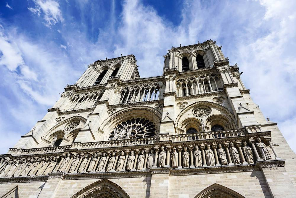 Photograph of Notre Dame Cathedral