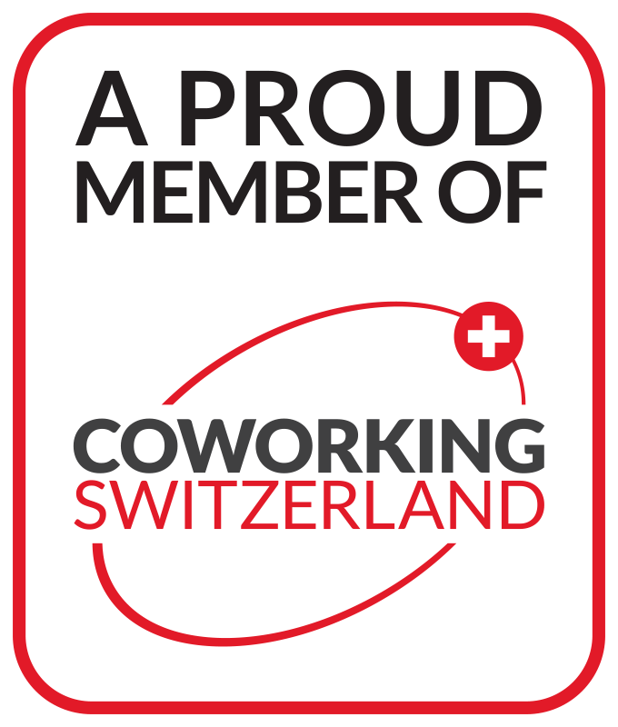 A proud member of Coworking Switzerland