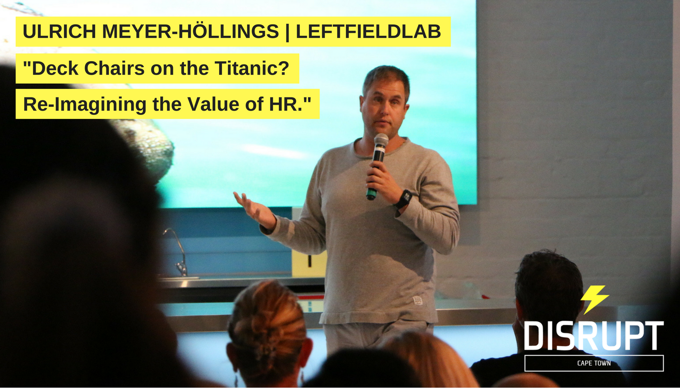 Ulrich Meyer-Höllings at DisruptHR CPT #3