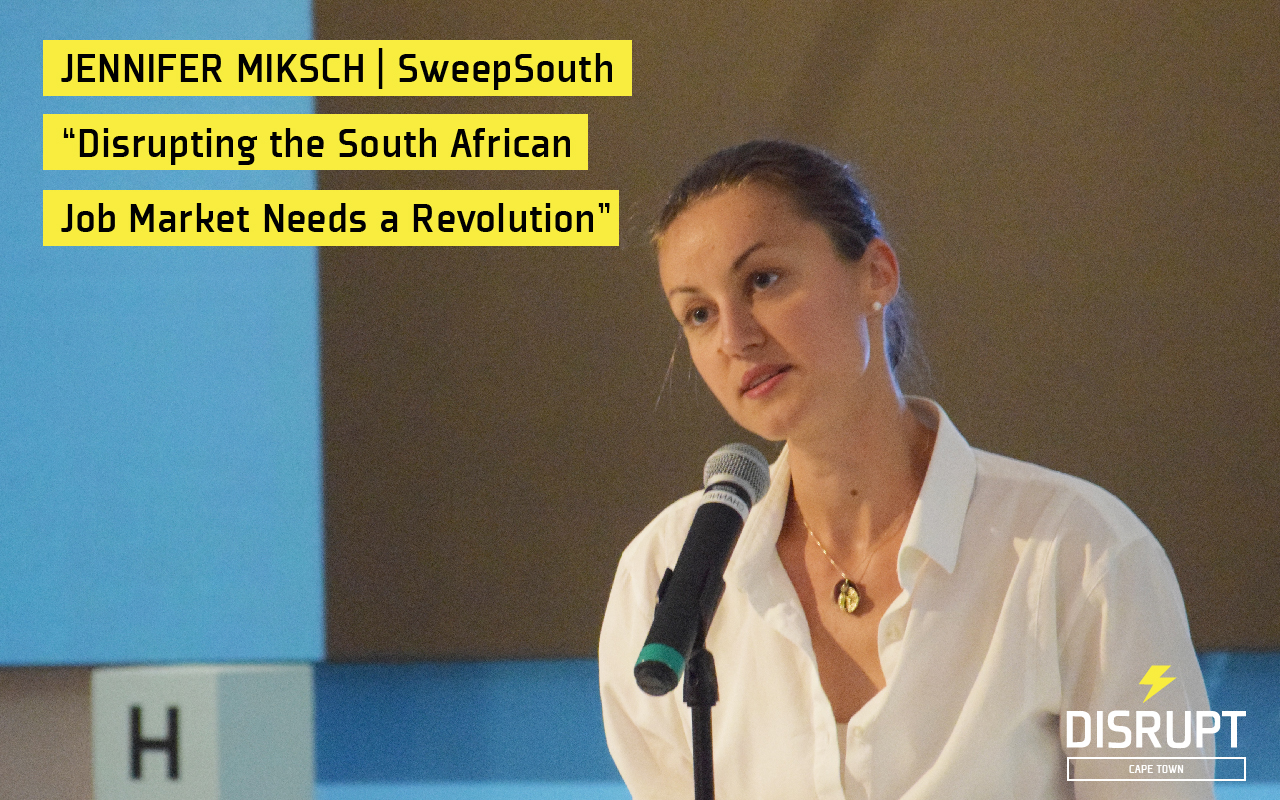 Jennifer Miksch at DisruptHR CPT #2