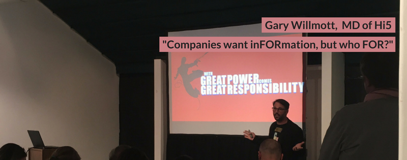 Gary Willmott at DisruptHR CPT #1
