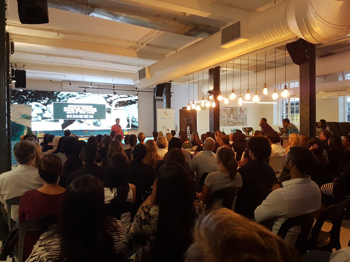 A packed house at DisruptHR CPT #3