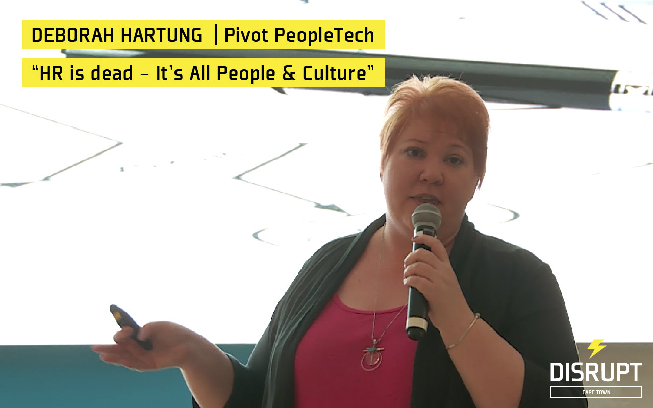Deborah Hartung at DisruptHR CPT #2