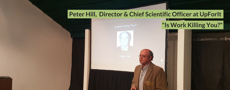 Peter Hill at DisruptHR CPT #1