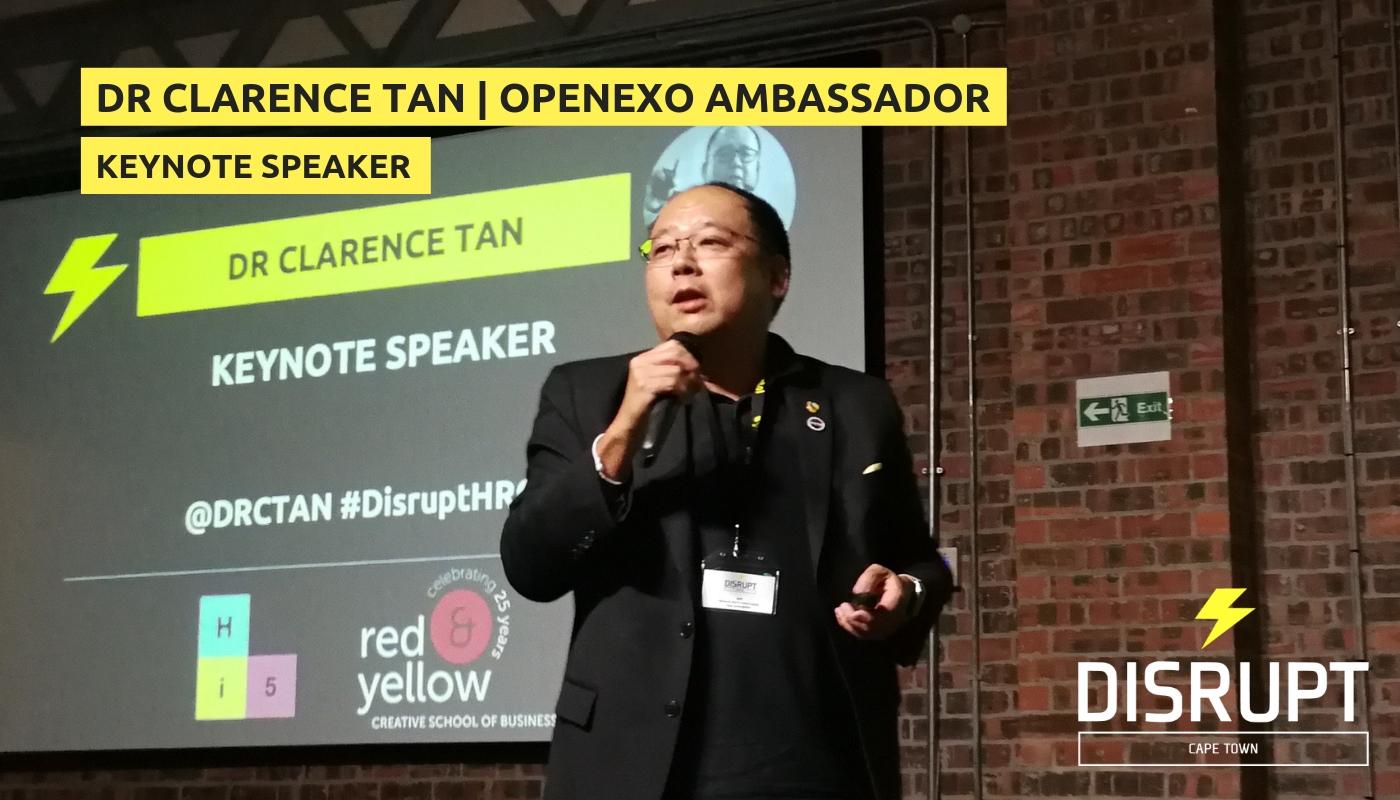 Keynote speaker: Dr. Clarence Tan