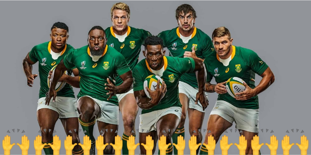How to Hi5 your favourite Rugby World Cup 2019 Springbok player