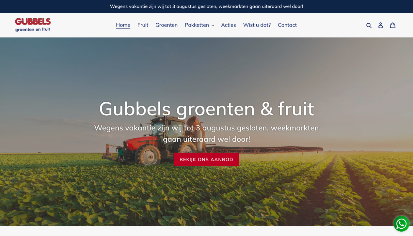 Gubbels groenten & fruit