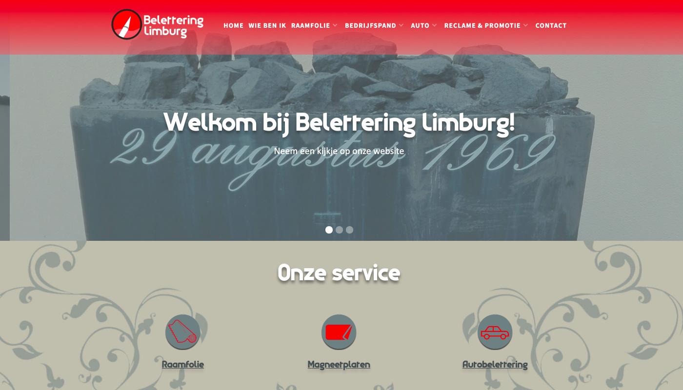 Belettering Limburg