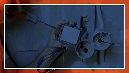 electrician services offered by trademark home services