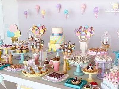 Festa Infantil Sorveteria 2018: Inspirações Lindas em Candy Color