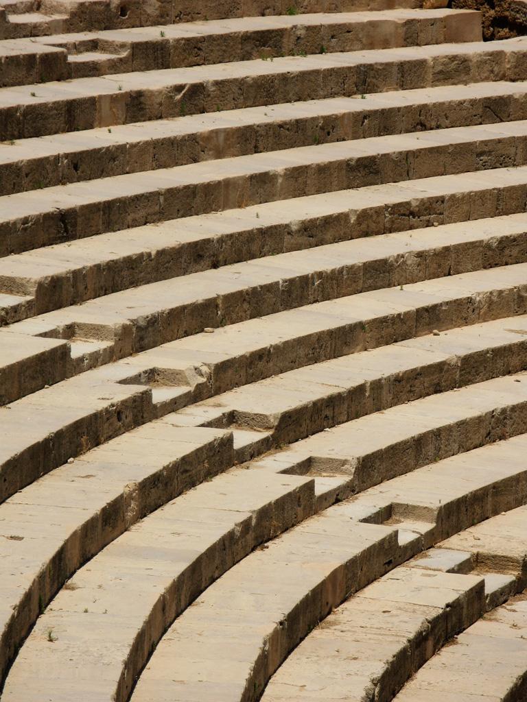 Amphitheatre, detail.