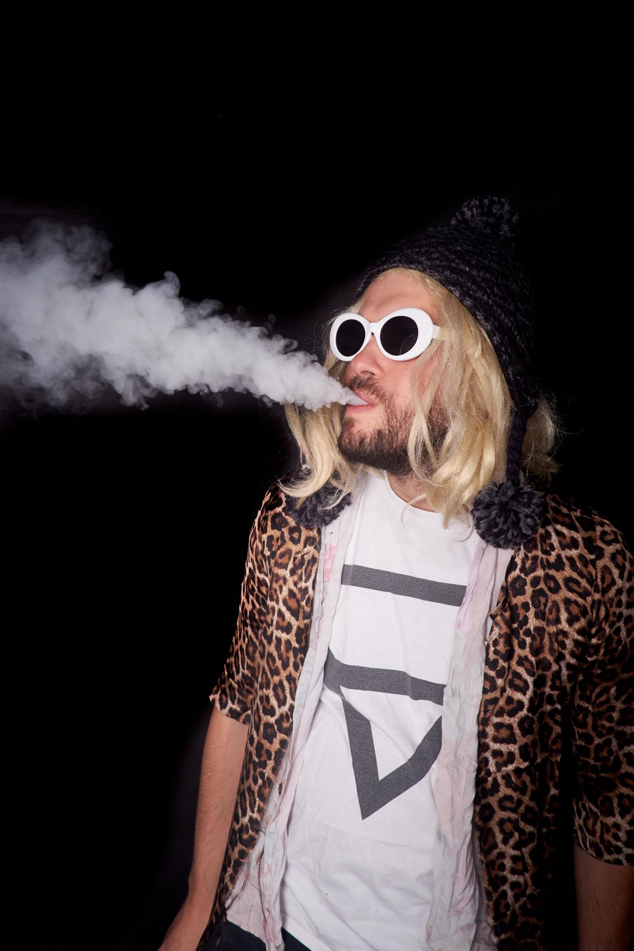 Kurt Cobain.