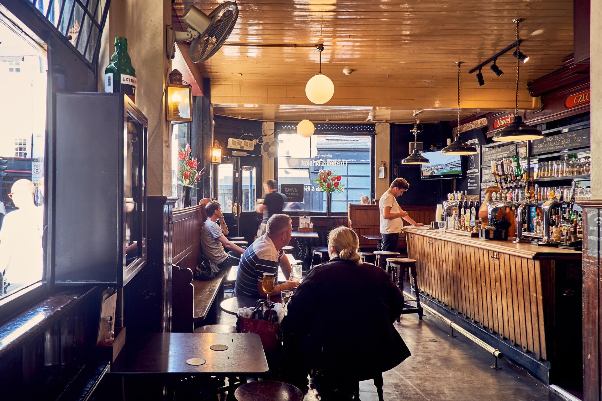 Pub interior.