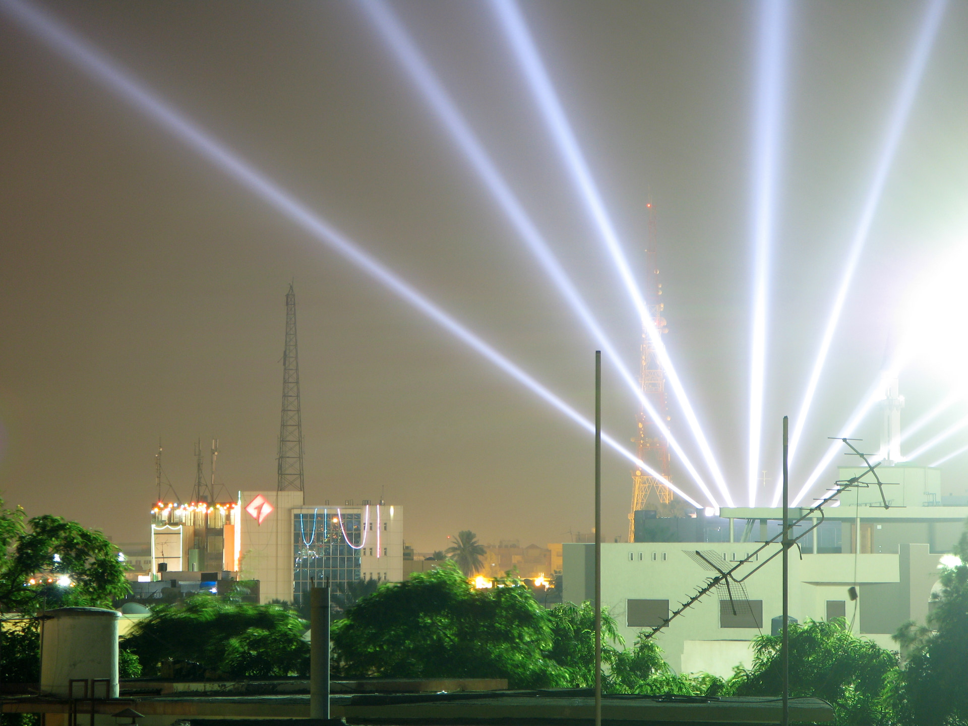 City lights. 2009, C-Type print.