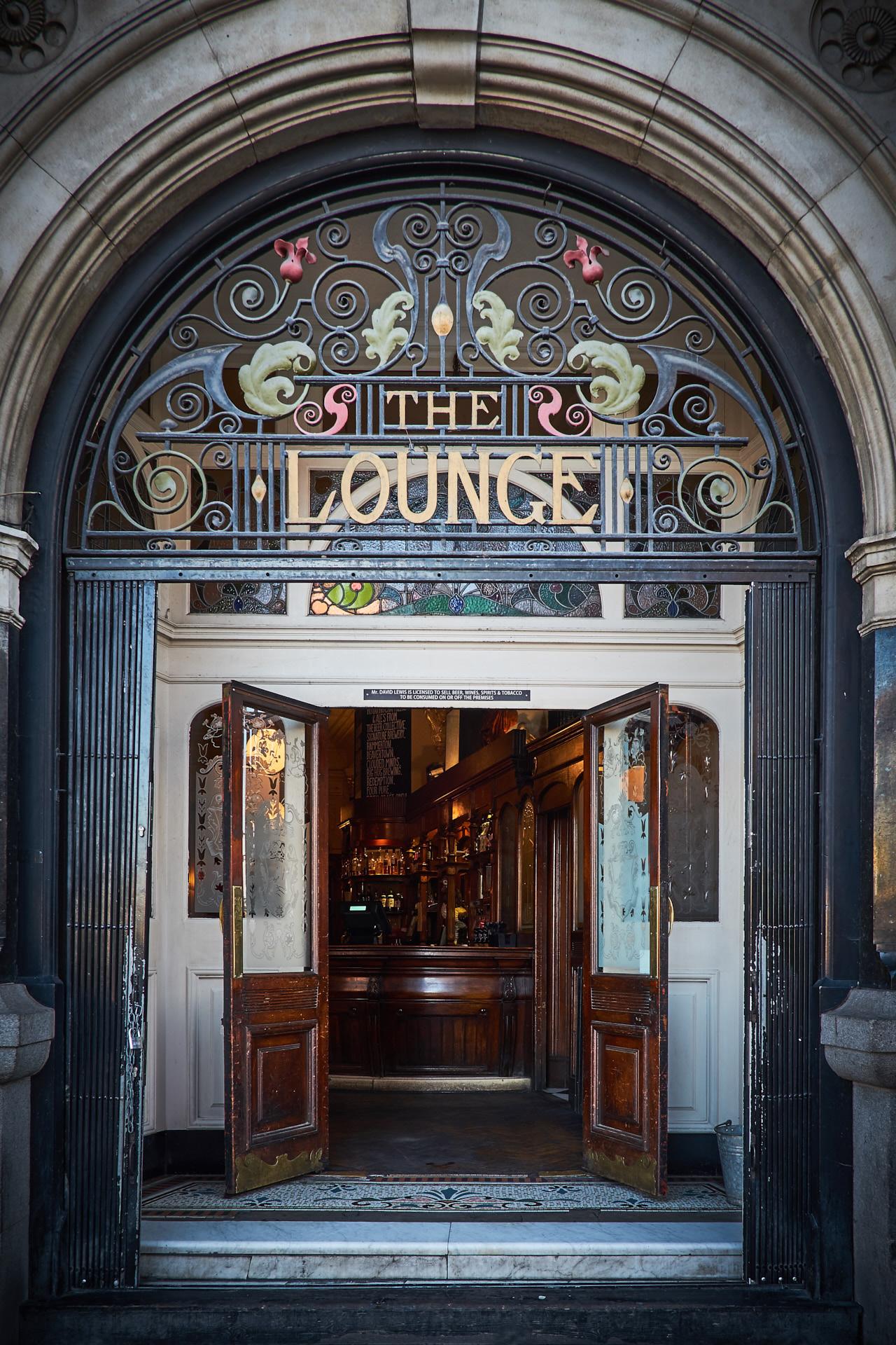 Lounge entrance.