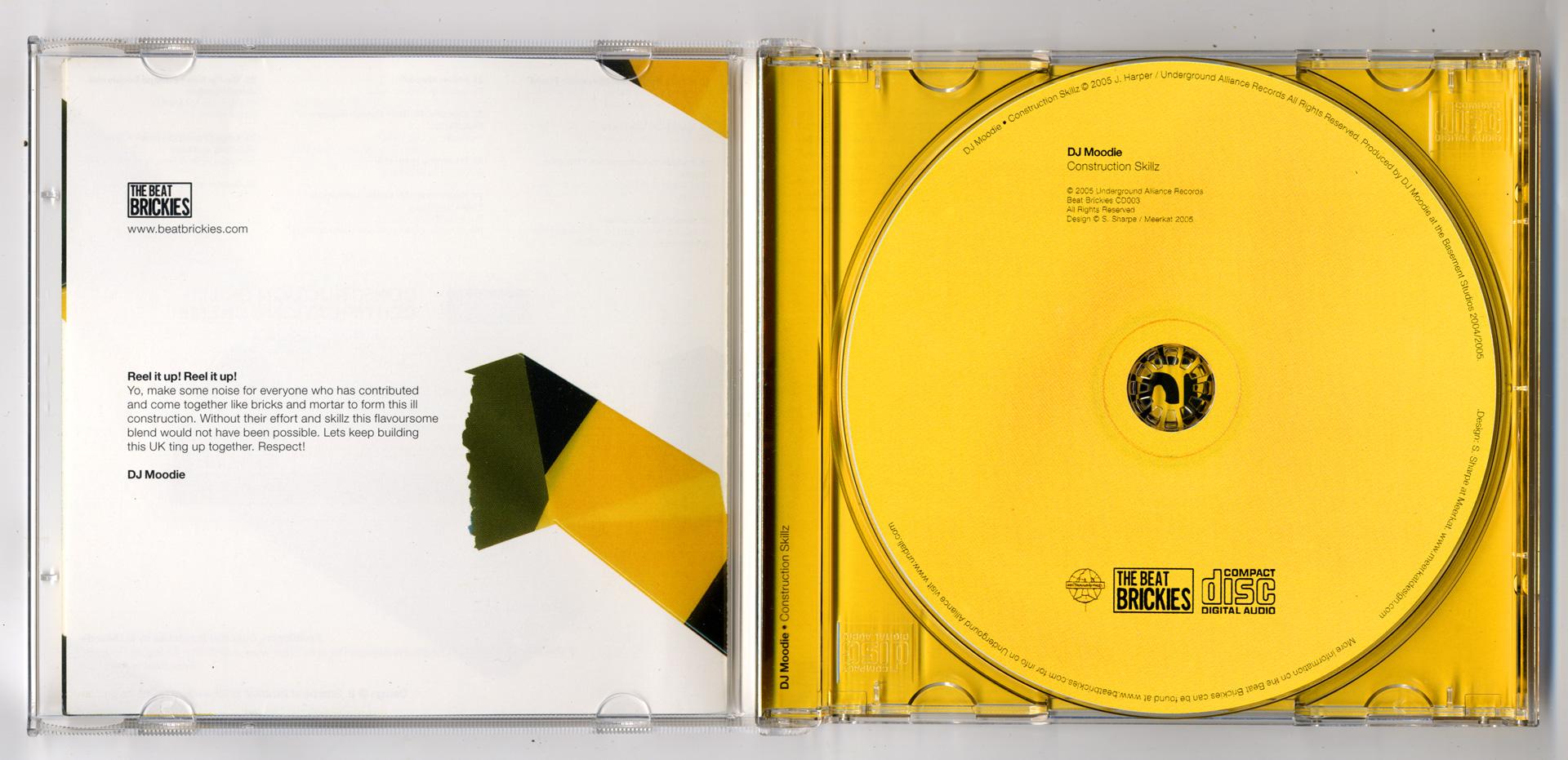 CD package, inside scan.