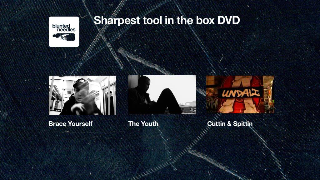 DVD menu.