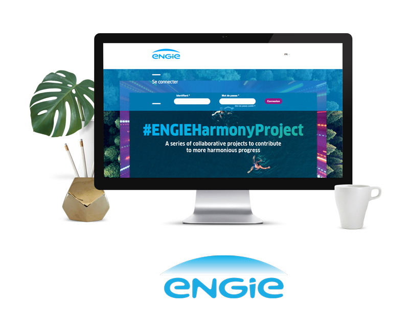 Projet Brand center Engie