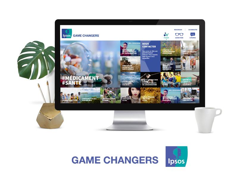 Projet site web Ipsos France
