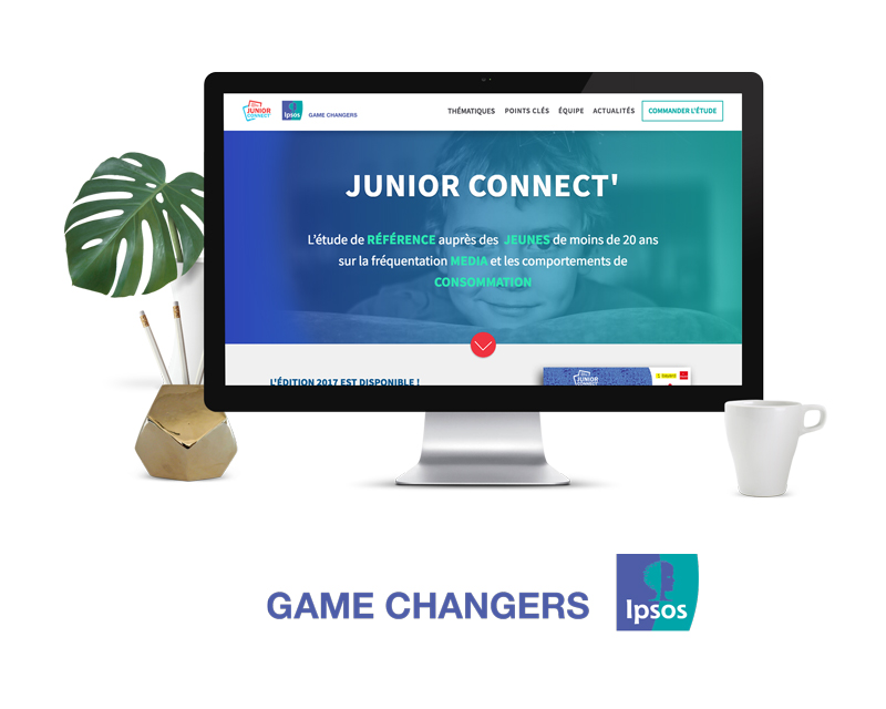 Projet site web Junior Connect'