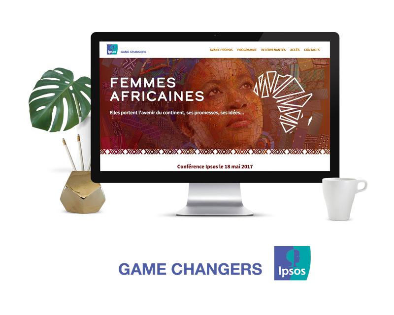 Projet site web Ipsos Africap