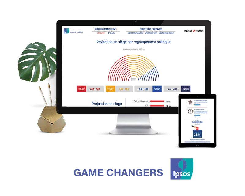 Projet site web élections législatives 2017