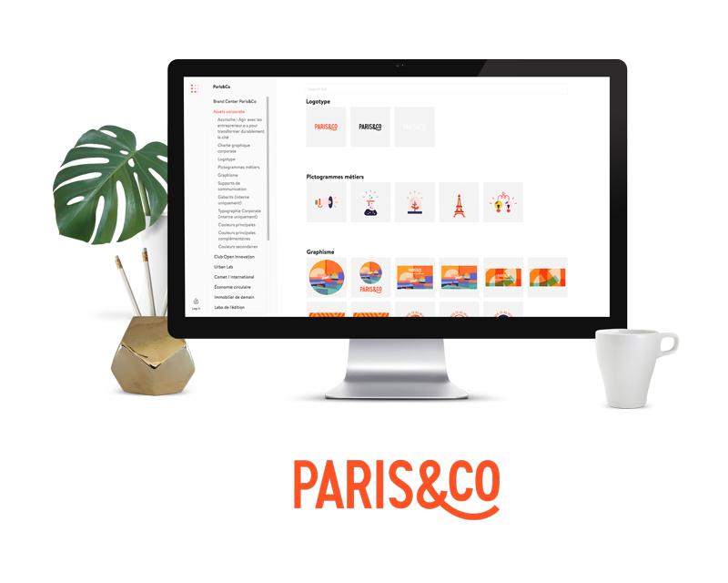 Projet Brand Center Paris&Co