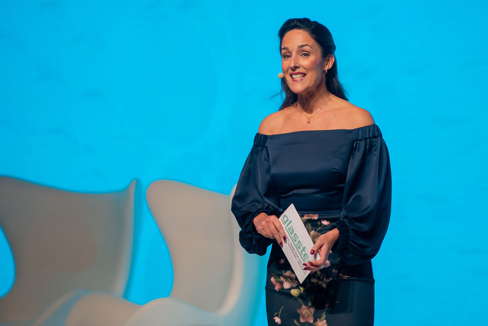 Tania HigginsOpening Ceremony and Panel Discussion, Glasstec, Dusseldorf, October 2018
