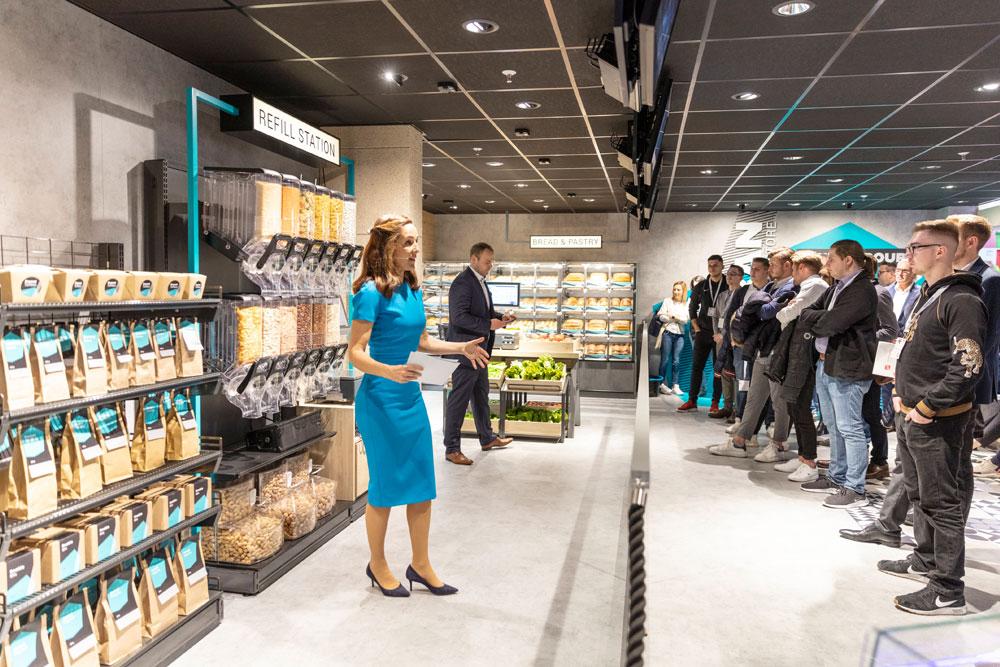 Wanzl Urban Store Presentation Euroshop Tradefair 2020 (Foto: Guntram Schindler)