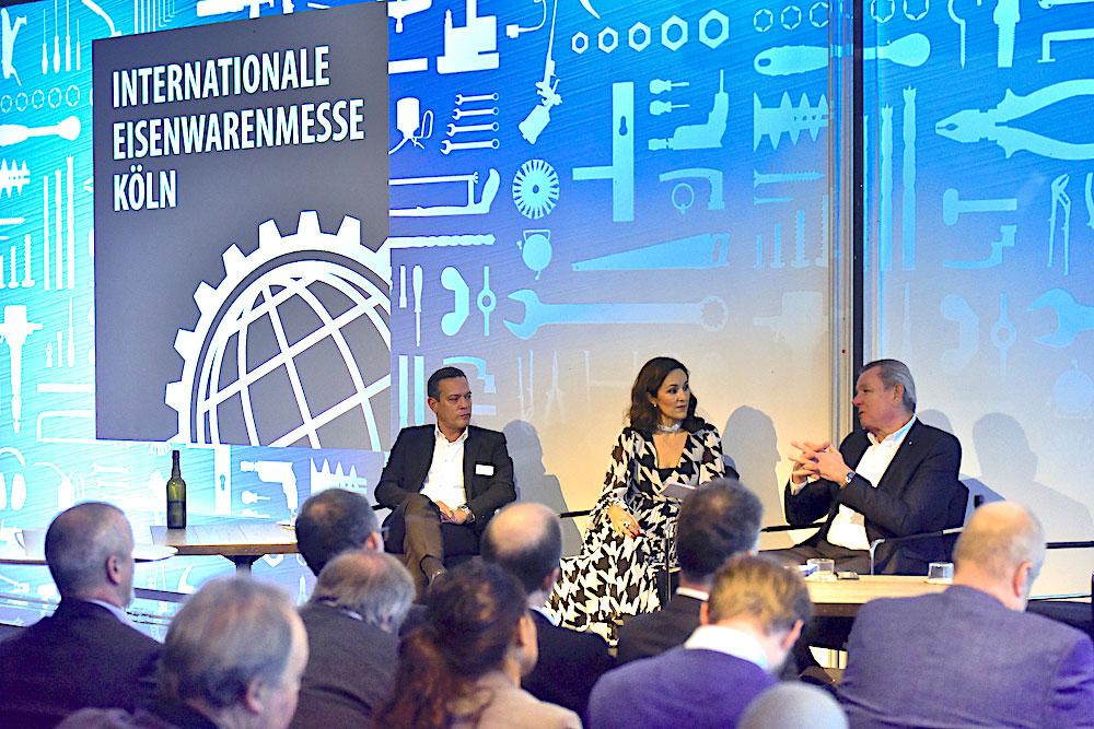 Internationale Eisenwarenmesse Europäische Pressekonferenz Stockholm 2019