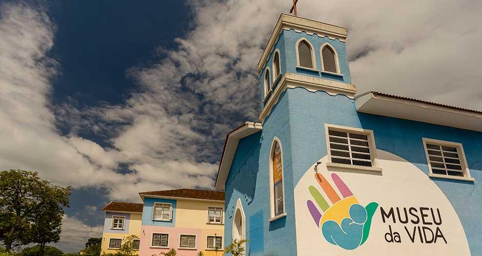 O Alba está localizado próximo ao Museu da Vida, em Curitiba