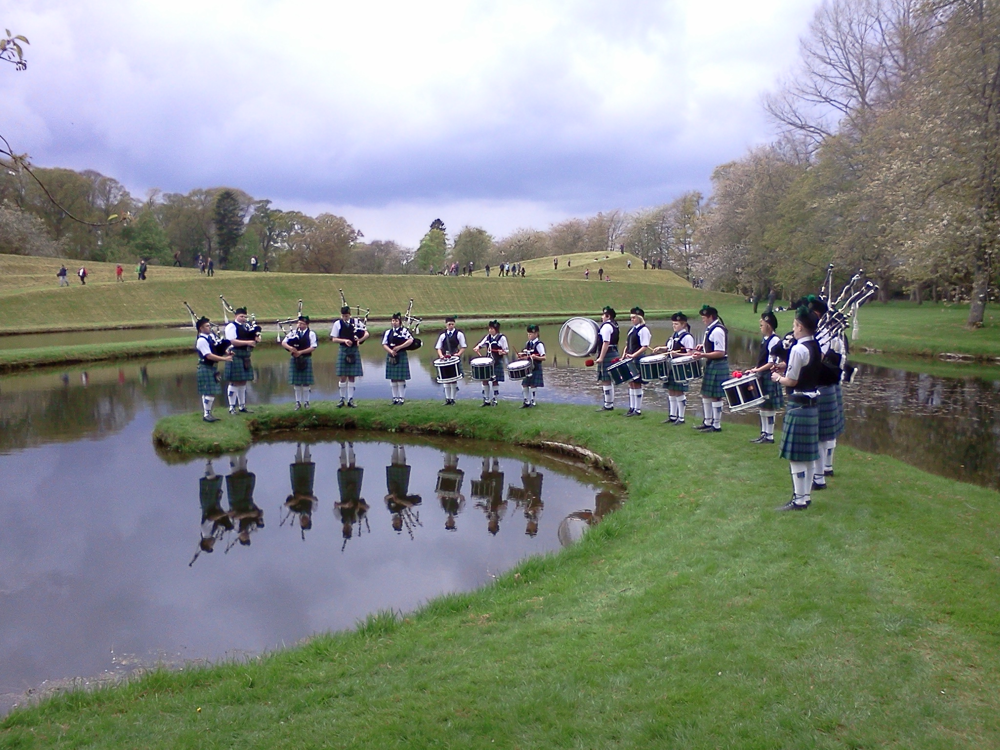 Pipers at the garden of cosmic speculation.