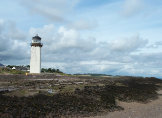 The lighthouse at Southerness