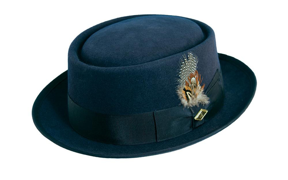 Find the Right Hat for Your Face Shape: Stacy Adams Jackson pork pie hat