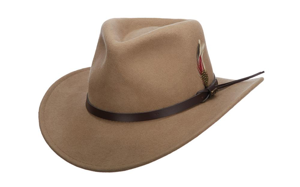 Find the Right Hat for Your Face Shape: Scala Dakota outback hat