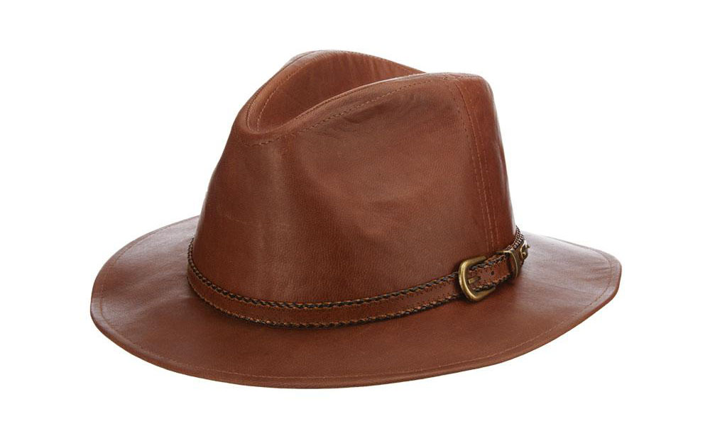 Best Safari Hats for Your Next Adventure: Stetson Dreghorn Leather Safari Hat