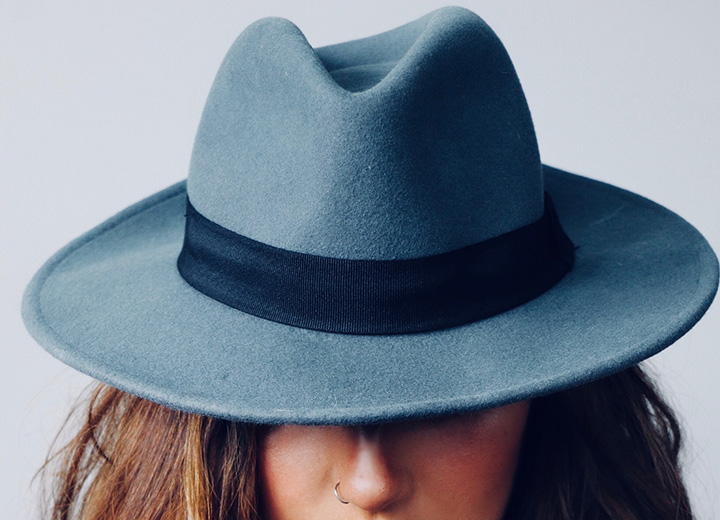 How to Wear a Fedora: Wool fedora