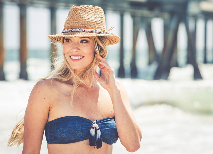 How to Clean a Straw Hat