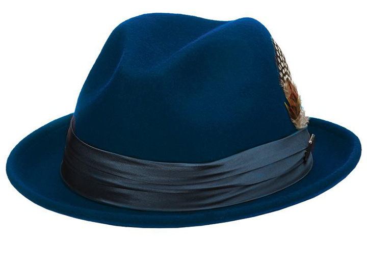Homburg Hat vs Fedora: Find the Style That's Right for You - Fedora Hat Shape