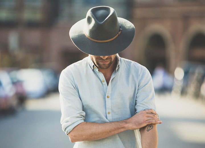 Homburg Hat vs Fedora: Find the Style That's Right for You - Wide Brim