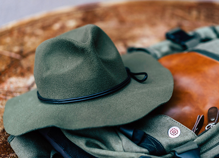 56aaf02f Instant Aging: How to Distress a Hat - Wearing out a wool fedora