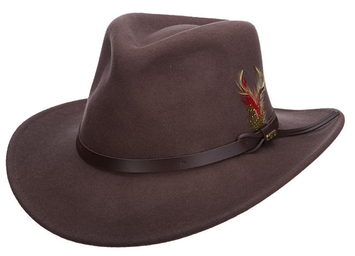 Bigger Is Better: Mens Wide Brim Hats - Outback Hat