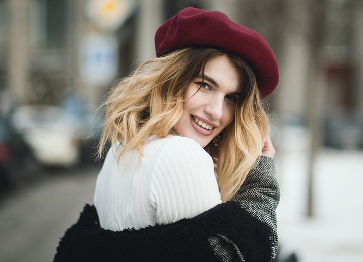 Style Guide: How to Pick the Best Winter Hats for Women - Beret