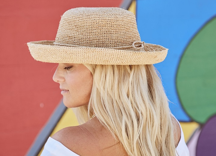 Beachy Hats great for the summer!