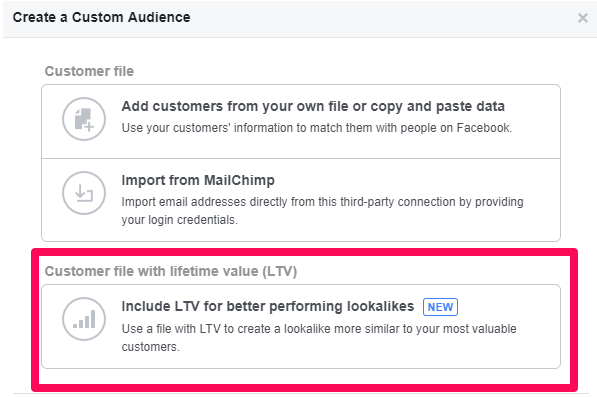 Facebook Lifetime Value Campaigns