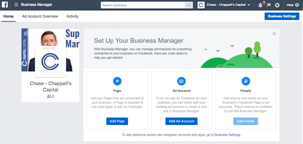 How to setup your facebook business manager properly
