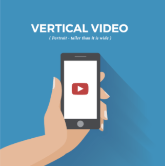 Vertical video is becoming very popular