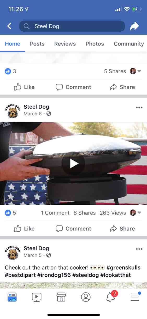Facebook & Instagram Ad Examples